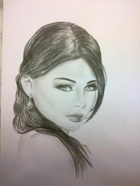 Haifa Wehbe by KarimKaram